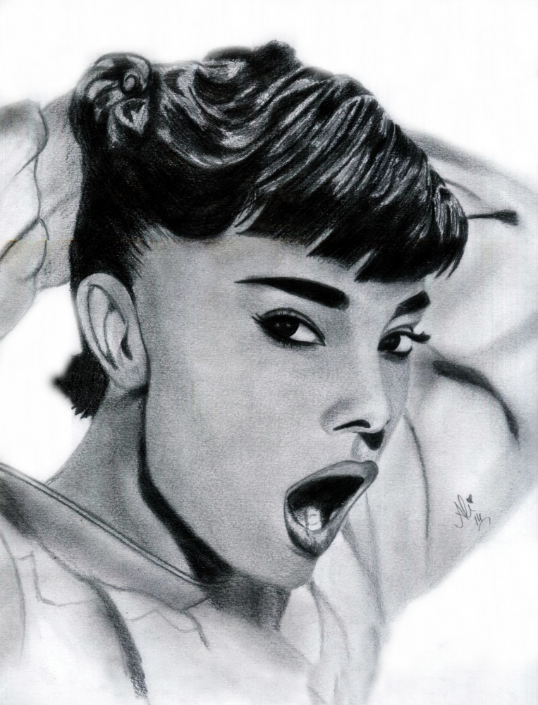Audrey Hepburn por bobbydar01@gmail.com